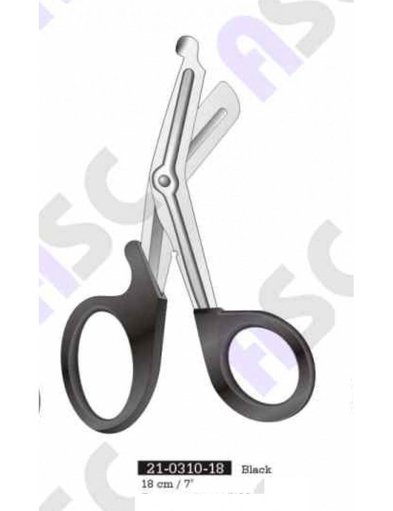 Plastic gauze scissors