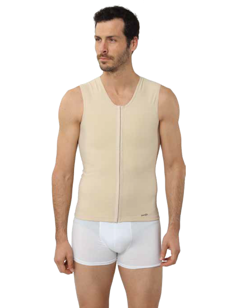 Male Chest Abdomen - Hip vest