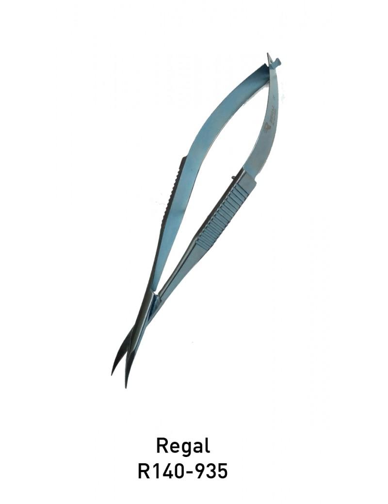 Regal titanium micro scissor