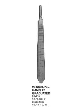 Wasnos scalpel handle No.3